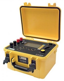 CA6240 - Micro-ohmmeter - Chauvin ArnouxCA6240 - Micro-ohmmeter - Chauvin ArnouxCA6240 - Micro-ohmmeter - Chauvin Arnoux