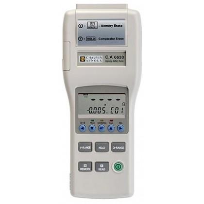 CA6630 - Testeur de capacité batterie - CHAUVIN ARNOUX