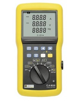CA8220 (MN93A) - Power Analyzer and Power Quality - Chauvin Arnoux