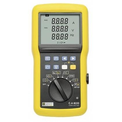 CA8220 (AmpFLEX) - Power Analyzer and Power Quality - Chauvin ArnouxCA8220 (AmpFLEX) - Power Analyzer and Power Quality - Chauvi