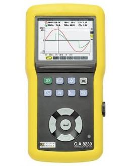 CA8230 (AmpFLEX) - Analyseur de puissance et de qualité d'énergie - CHAUVIN ARNOUX