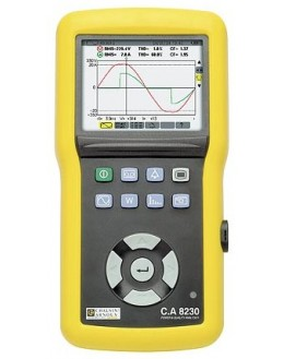 CA8230 (AmpFLEX) - Power Analyzer and Power Quality - Chauvin ArnouxCA8230 (AmpFLEX) - Power Analyzer and Power Quality - Chauvi