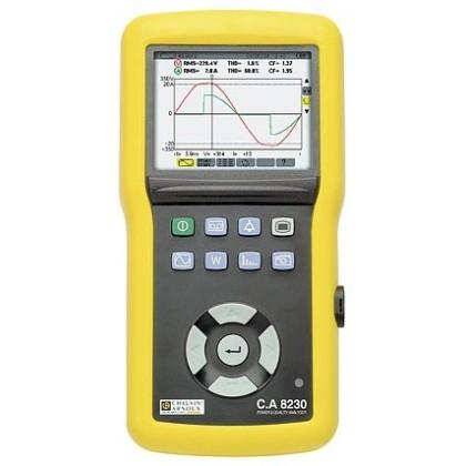 CA8230 (AmpFLEX) - Power Analyzer and Power Quality - Chauvin ArnouxCA8230 (AmpFLEX) - Power Analyzer and Power Quality - Chauvi