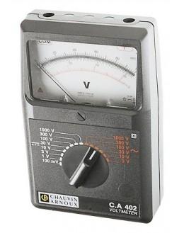 CA402 - Voltmeter AC / DC - Chauvin ArnouxCA402 - Voltmeter AC / DC - Chauvin ArnouxCA402 - Voltmeter AC / DC - Chauvin Arnoux
