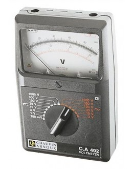 CA402 - Voltmètre AC/DC - CHAUVIN ARNOUX