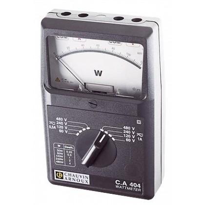 CA404 - Wattmètre monophasé AC/DC - CHAUVIN ARNOUX