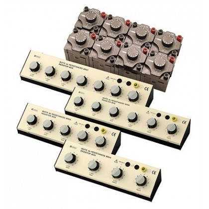 BR07 - Box 7 decades 1 Ohm to 10 MOhm - Chauvin ArnouxBR07 - Box 7 decades 1 Ohm to 10 MOhm - Chauvin ArnouxBR07 - Box 7 decades