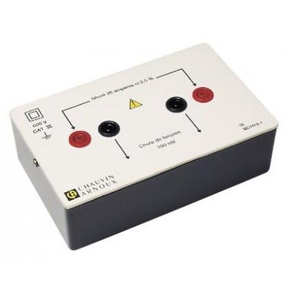 P01165222 - Shunt de sécurité 5A - CHAUVIN ARNOUX