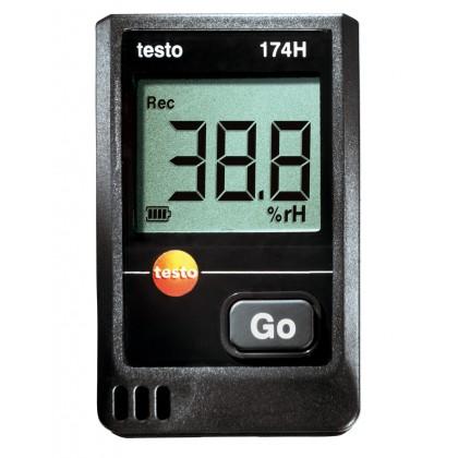 testo 174-H (° C /% RH) Mini-recorder temperature humidity - TESTOtesto 174-H (° C /% RH) Mini-recorder temperature humidity -