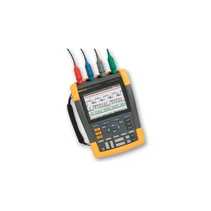 Fluke 190-104S - Color ScopeMeter (100 MHz, 4 channels) with SCC290 kitFluke 190-104S - Color ScopeMeter (100 MHz, 4 channels) w