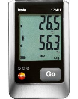 testo 176 H1 Enregistreur de temp et humidité 4 canaux avec entrées de sondes externes