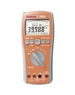 SEFRAM 7355 - 100000 pts multimeter TRMS AC and AC + DCSEFRAM 7355 - 100000 pts multimeter TRMS AC and AC + DCSEFRAM 7355 - 1000