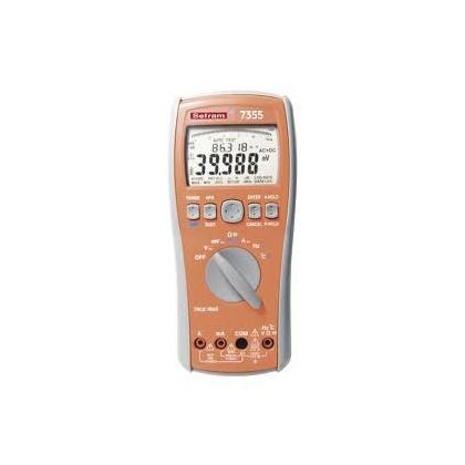 SEFRAM 7355 - 100000 pts multimeter TRMS AC and AC + DCSEFRAM 7355 - 100000 pts multimeter TRMS AC and AC + DCSEFRAM 7355 - 1000