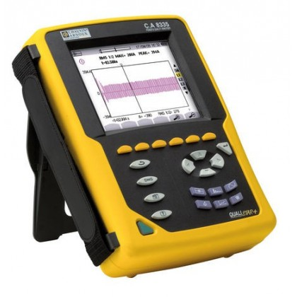 CA8335 - Power Quality Analyzer phase Qualistar 4U/4I - Chauvin ArnouxCA8335 - Power Quality Analyzer phase Qualistar 4U/4I - Ch