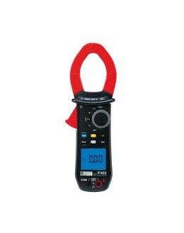 F403 Pince multimètre TRMS 1000AAC/1500ADC