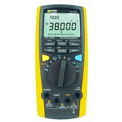 IM9930 - Multimetre TRMS AC+DC 100Khz 40000pts - Imesure