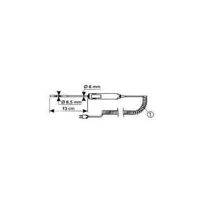 P03652921 - capteur SK17 air /gaz - CHAUVIN ARNOUX