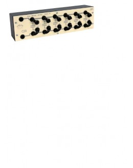 C20 - boite de condensateurs à cavaliers - LANGLOIS