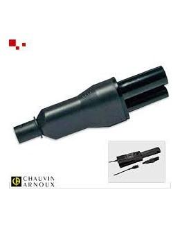 Adaptateur E3N - CHAUVIN ARNOUX - P01102081 - Adaptateur pince E3N pour connecteur QUALISTAR