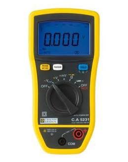 CA5231 - multimètre numérique - P01196731 - CHAUVIN ARNOUX - Remplace CA5205G