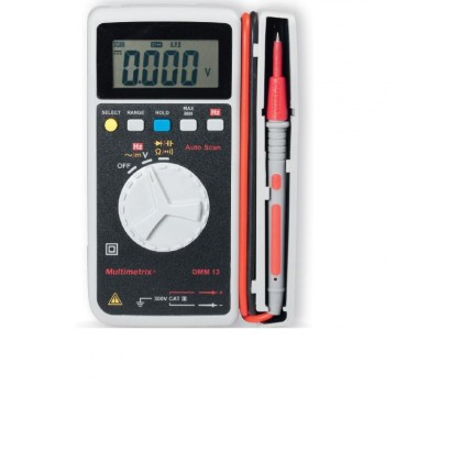 DMM13 - Multimètre de poche - Multimetrix - P06231004z