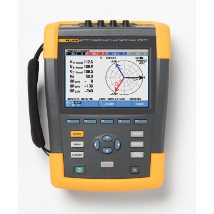 FLUKE 437-II - Energimètre et analyseur de qualité de réseaux électrique triphaséFLUKE 437-II - Energimètre et analyseur d