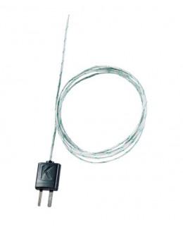 0602 0645 - Thermocouple isolé, soie de verre, flexible, longueur 1500 mm