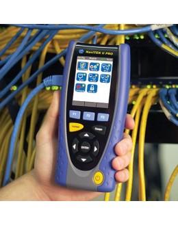 NaviTEK II PRO - Vérificateur réseaux et cablage RJ45 et Fibre Optique Sauvegarde Netscan VLAN - IDEAL NETWORKS
