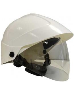 Casque industriel avec écran facial et mentonnière intégrés - CATU - MO-185-BLM