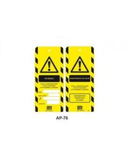 AP-476 - Affichette Maintenance en cours - CATU