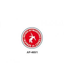 AP-465/1 - Macaron Travaux en cours - CATU