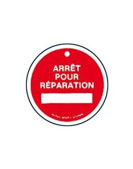 AP-477/1 - Macaron Arrêt pour réparation - CATU