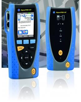 R156005 - SignalTEK NT - Testeur câblage, réseaux actifs RJ45 et Fibre Optique - IDEAL NETWORKS - R156005