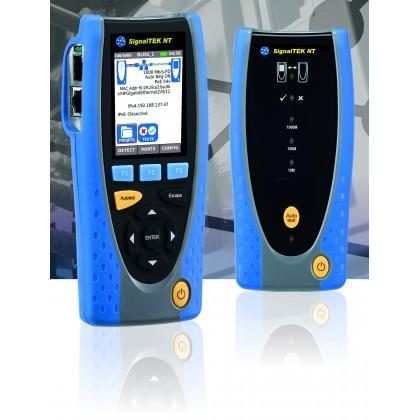 SignalTEK NT - Testeur câblage, réseaux actifs et transmission de données RJ45 et Fibre Optique - IDEAL NETWORKS