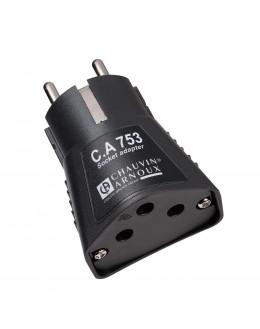 CA753 - Adaptateur de test pour prise 2P+T - P01191748Z