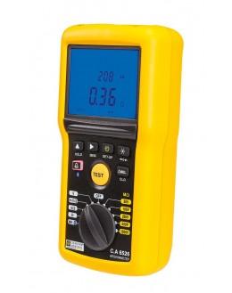 CA 6532 - Contrôleur d'isolement Telecom 50-100 V et de Continuité - Chauvin Arnoux CA 6532 - Contrôleur d'isolement Tele
