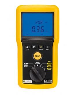 CA 6522 - Contrôleur d'isolement 1 kV et de Continuité - Chauvin ArnouxCA 6522 - Contrôleur d'isolement 1 kV et de Contin