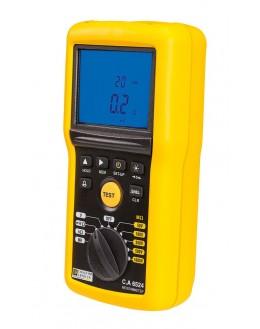 Contrôleur d'isolement 1 kV et de Continuité - CA 6524 - Chauvin Arnoux - P01140824 - remplace CA6523