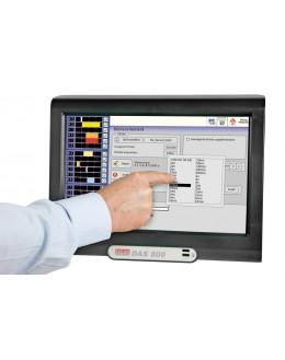 DAS 801SV - Enregistreur sans papier 12 voies multiplexées, sans ventilateur, écran tactile - SEFRAM
