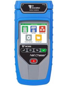 NC950-AR - Testeur de câbles multifonctions, testeur et qualificateur de réseaux informatiques - SEFRAM