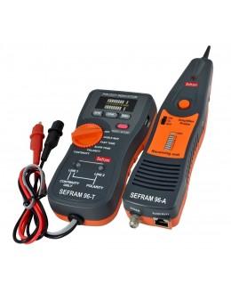 SEFRAM 96 - Localisateur de câbles et testeur de câbles informatiquesSEFRAM 96 - Localisateur de câbles et testeur de câbles