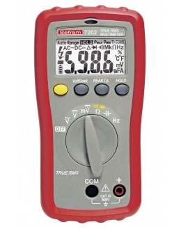 SEFRAM 7203 - Multimètre 6000 points TRMS AC SEFRAM 7203 - Multimètre 6000 points TRMS AC SEFRAM 7203 - Multimètre 6000 point