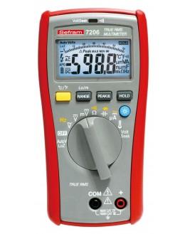 SEFRAM 7206 - Multimètre 6000 points TRMS AC