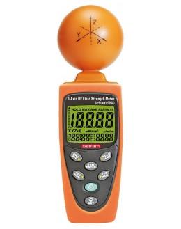 SEFRAM 9840 - Mesureur de champ électromagnétique 3 axes 5MHz à 3,5 GHz
