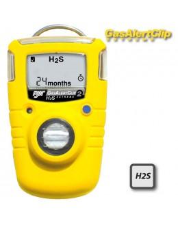 GA24XT clip H2S - détecteur de gaz H2s 24 mois - BW clip H2S