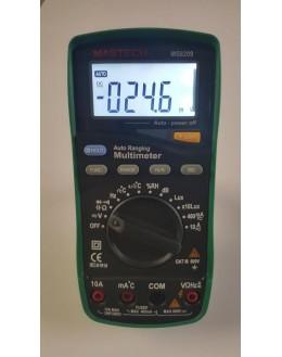 MS8209 - multimetre 5 en 1 - multimetre thermometre sonometre hygrometre luxmetre