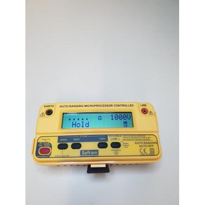 MW9070D - Mesureur d'isolement 250 500 et 1000V - SEFRAM