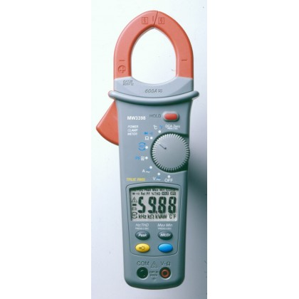 Pince wattmétrique 600A AC/DC MW3398
