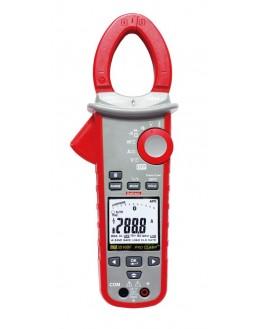 Pince wattmétrique 600A TRMS AC, 1000V AC/DC (TRMS AC+DC), 600kW, compatible Flex 3000A, Bluetooth - MW3516BF - SEFRAM