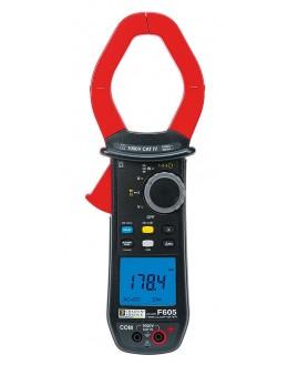 Pince multimètre TRMS 2000A TRMS AC/DC - F605 - CHAUVIN ARNOUX